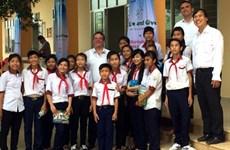 Inauguration de la 19e école du programme «Lampe à lucioles»