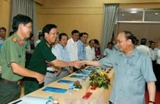 Le Premier ministre en tournée à Quang Ngai