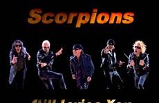 Le groupe de rock Scorpions à Hanoi en octobre