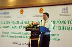 Forum sur le développement urbain à Quang Nam