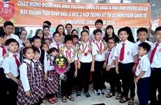 Mathématiques : les élèves vietnamiens primés lors des SIMOC 2016