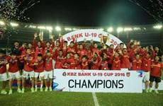 Football : l'U19 Vietnam remporte la KBZ Bank Cup 2016 au Myanmar