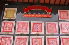 Exposition de documents royaux à Lam Dong