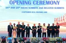 Ouverture des 28e et 29e Sommets de l'ASEAN au Laos