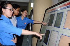 Exposition «Hoàng Sa, Truong Sa du Vietnam - Preuves historiques et juridiques» à Hà Tinh