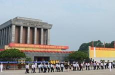 Mausolée du Président Hô Chi Minh - ouvrage de la volonté du Parti et de l'aspiration du peuple