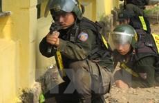 Manœuvres complexes de lutte contre le terrorisme transfrontalière