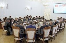 Le vice-Premier ministre Trinh Dinh Dung en visite de travail à Saint-Pétersburg