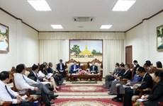 Le vice-Premier ministre laotien Duangdy Somdy salue la coopération avec le Vietnam