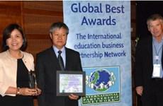 La VCCI remporte un prix d'or des Global Best Awards 2016 de l'IPN