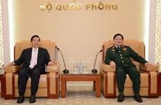 Le ministre vietnamien de la Défense reçoit le ministre chinois de la Sécurité publique