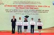 Le Fonds Lawrence S. Ting œuvre au développement du Vietnam