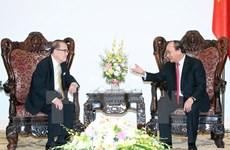 Le Premier ministre vietnamien reçoit l'ancien président du Sénat malaisien