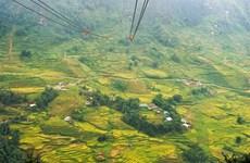 Découvrir la vallée de Muong Hoa grâce au téléphérique