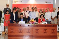 Microsoft Vietnam et Vietnam Silicon Valley signent un protocole