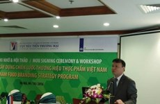 Stratégie de développement d'une marque de l'industrie agroalimentaire du Vietnam