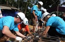 Deux cents volontaires internationaux au chevet des familles pauvres vietnamiennes
