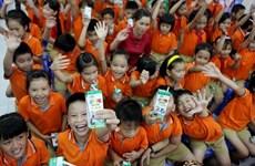 Du lait et des bourses au profit des enfants et élèves démunis