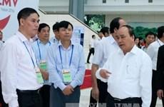 Le PM inspecte les préparatifs des ACMECS-7, CLMV-8 et WEF-Mékong