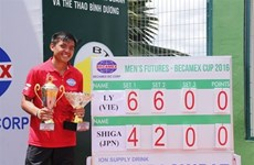 Ly Hoàng Nam dans le Top 700 du classement de l'ATP