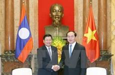Le président vietnamien reçoit le PM laotien
