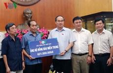 Le Front de la Patrie du Vietnam collecte des fonds pour les sinistrés du Centre