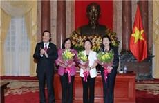 Nouvelle présidente du Conseil de patronage du Fonds national pour les enfants vietnamiens