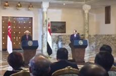 Singapour et Égypte renforcent leur coopération commerciale