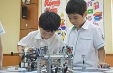 Concours annuel de robotique pour les élèves