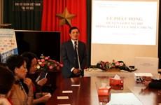 Les Vietnamiens en R. tchèque et en Allemagne soutiennent les sinistrés des crues au Centre