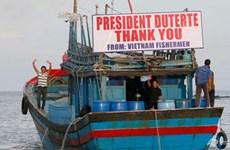 Lettre de remerciement au président philippin pour la libération des 17 pêcheurs vietnamiens