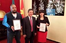 Le Prix national vietnamien de l'information pour l'étranger décerné à des journalistes algériens