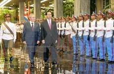 Renforcement de la solidarité et de la coopération intégrale Vietnam - Cuba