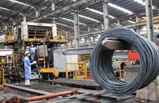 Hausse des exportations nationales d'acier vers l'Amérique du Nord