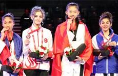 Taekwondo : Kim Ngan médaillée au Canada