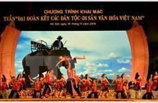 Semaine de la solidarité des ethnies et des patrimoines culturels du Vietnam