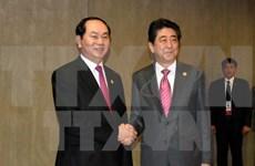 Entretien Tran Dai Quang – Shinzo Abe