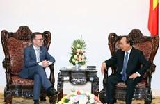Nguyen Xuan Phuc reçoit l'ambassadeur néo-zélandais