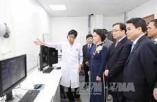 Le Centre des hautes techniques digestives de Hanoï inauguré
