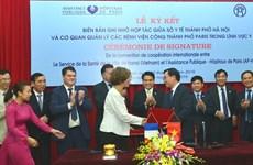 Hanoï renforce la coopération avec Paris dans la santé