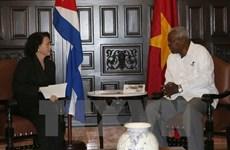 Activités de la présidente de l'Assemblée nationale à Cuba