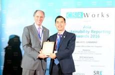 Le groupe Bao Viet remporte le Prix du meilleur Rapport développement durable de l'Asie