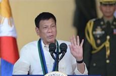 Le président philippin s'entretient au téléphone avec le président américain élu