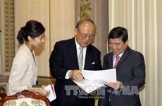 Le conseiller spécial de l'Alliance parlementaire d'amitié Japon - Vietnam à Ho Chi Minh-Ville