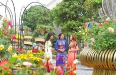 La rue florale Nguyên Huê à Hô Chi Minh-Ville