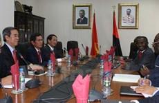 Le Vietnam et l'Angola stimulent la coopération économique