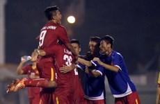Coup d'envoi du Tournoi international de football des moins de 21 ans