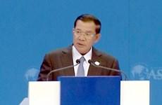 Le Premier ministre cambodgien commence sa visite officielle au Vietnam
