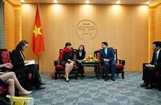 Hanoï approfondit sa coopération avec les entreprises belges