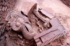 Un four de matériaux de construction de la dynastie des Tran découvert à Yen Bai